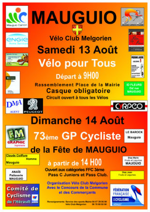 GP Fête de MAUGUIO 2016